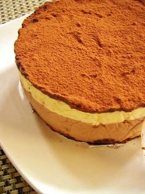 ムースがとろける*レモンチョコムースケーキ*