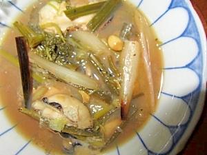エシャロット牡蠣蒸