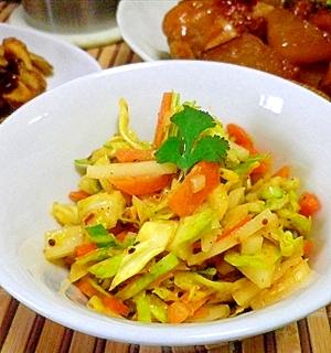 大根ピー助け隊!くず野菜のこうばし中華小鉢