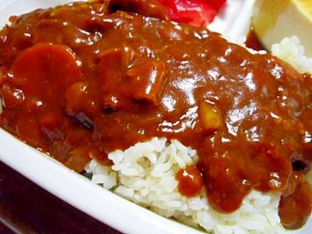 豚薄切り肉で ハヤシライス