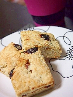 おからが余ったら★おからプルーンソフトクッキー