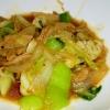 柚子胡椒で簡単野菜炒め