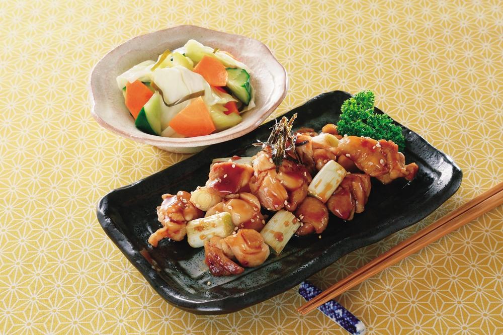 楽天マート☆フライパンde焼き鶏を簡単クッキング!