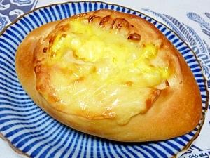酒かす酵母ストレート法 de おっきなチーズパン