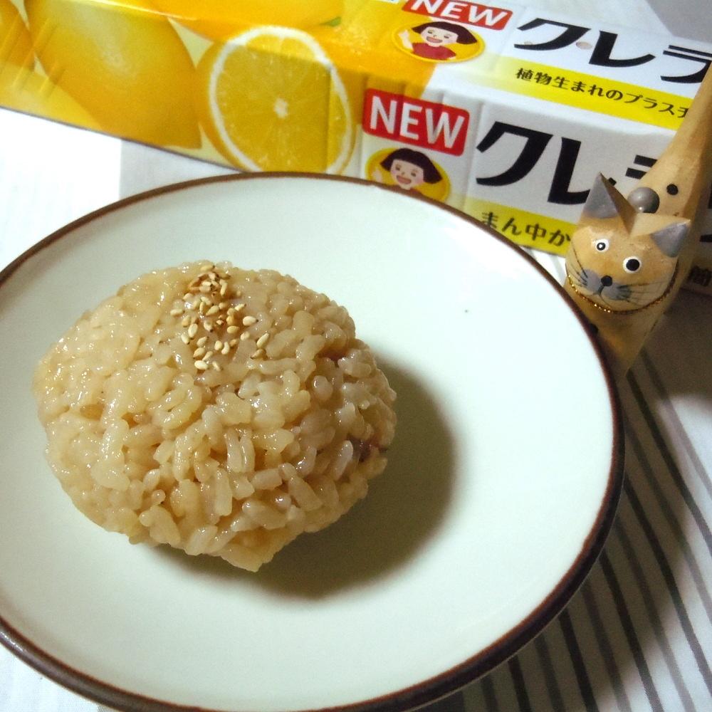 静岡県の郷土料理 お桜ご飯のおにぎり♪