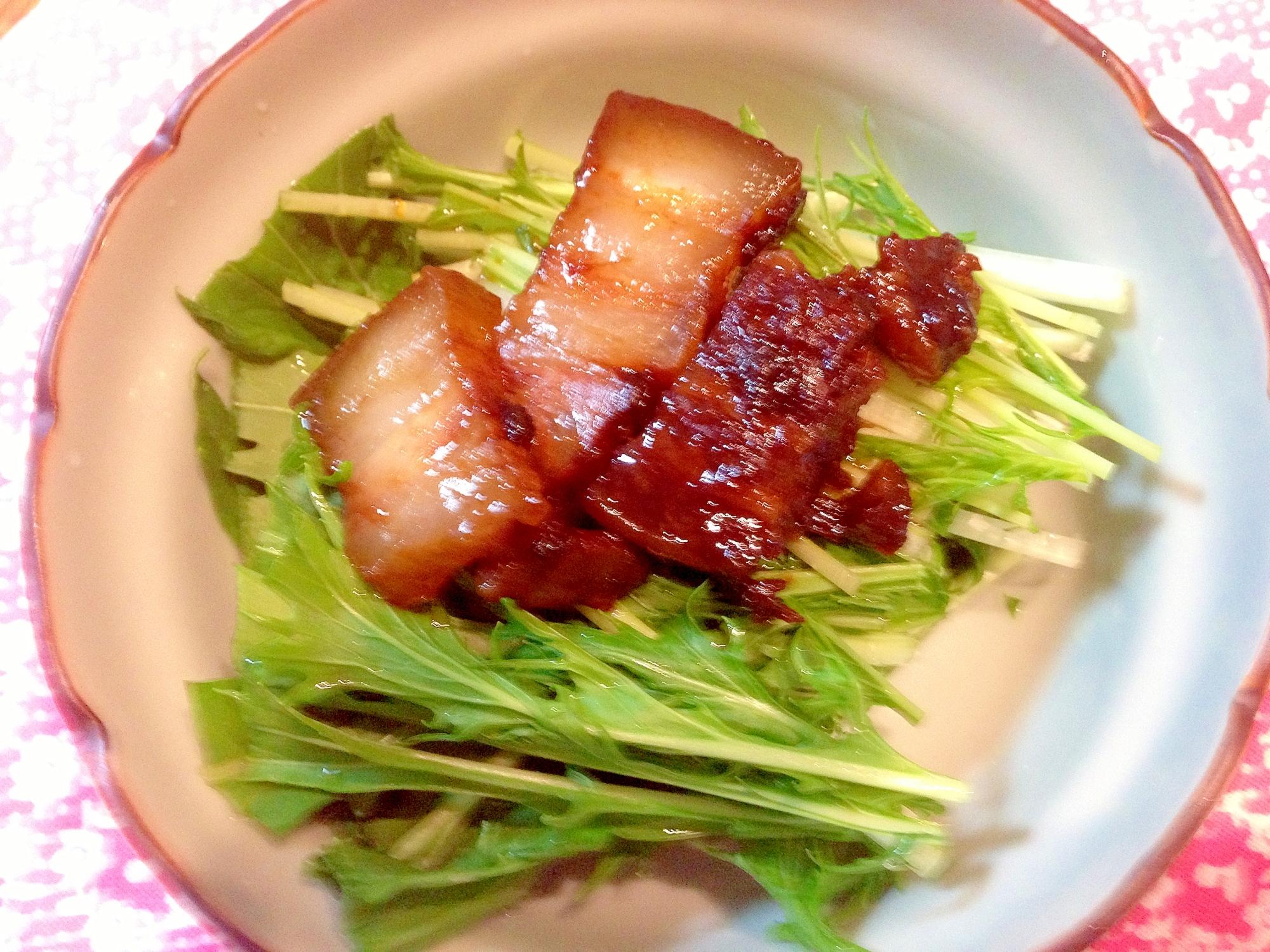 ルクルーゼで豚のママレード煮