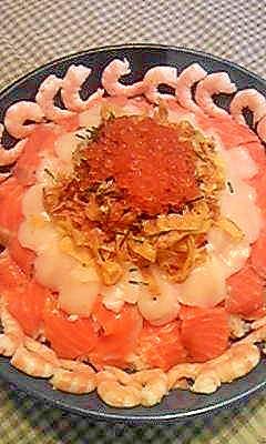 ひな祭り♪海鮮ちらし寿司☆