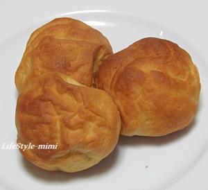 薄力粉と強力粉のチーズインパン