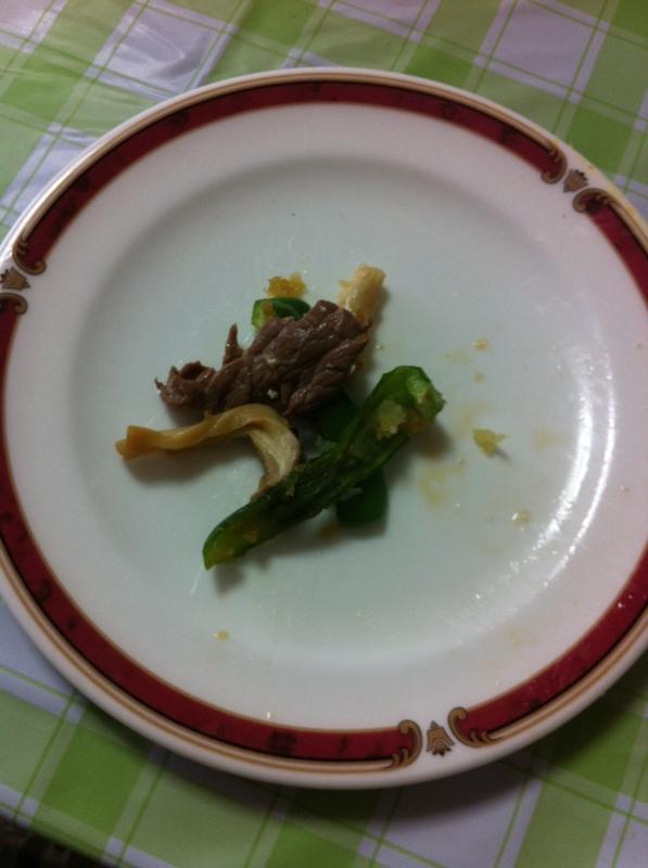 いつでも簡単牛肉&ピーマン&エリンギの炒め物