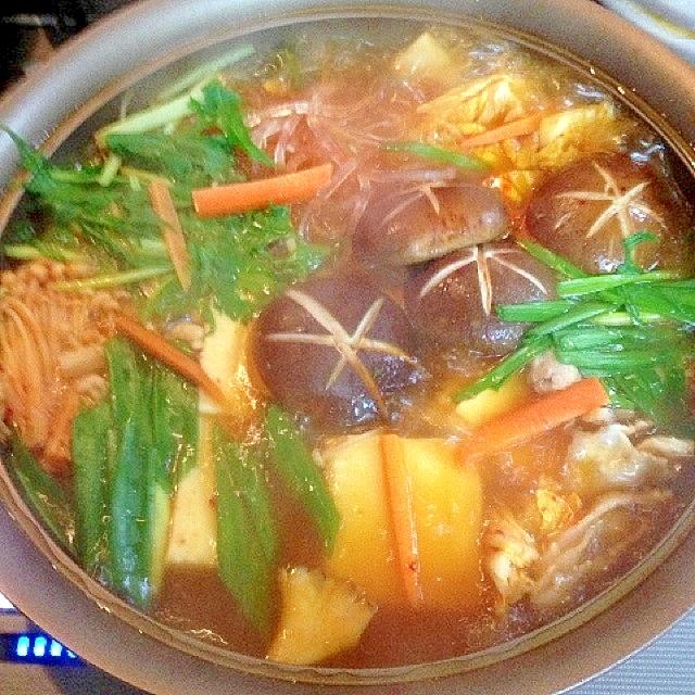 鍋キュウブで簡単!温まる野菜鍋