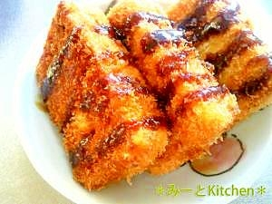 とんカツみたい?!ヘルシー♪高野豆腐のフライ とんカツみたい?!ヘルシー♪高野豆腐のフライ レシ