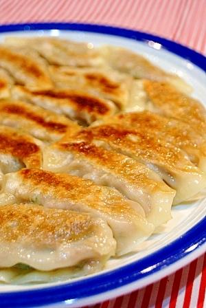 ナンプラーでおいしい!白菜たっぷり餃子