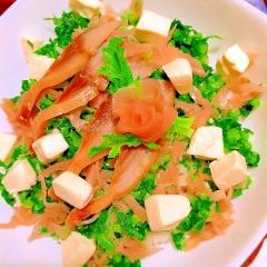 燻製さばと大根葉の洋風ちらし寿司don