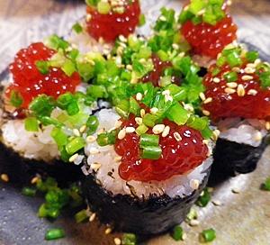 一口筋子寿司