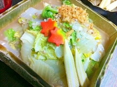 フライパン1本でサクッと白菜&蕎麦米の炒め煮