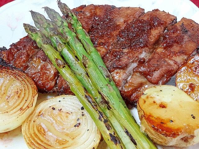 豚肉に合うソース&「バックリブBBQ」