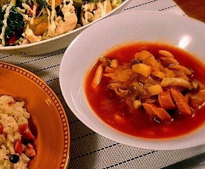 トマトジュースで簡単☆おかずミネストローネ レシピ・作り方 by くり2207|楽天レシピ