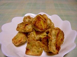 里芋の煮っ転がしで 里芋の天ぷら♪