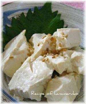 チーズのような味わい塩豆腐