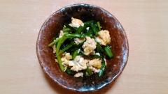ずぼらレシピ! ★豆腐ニラ玉★