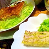 春キャベツと鶏胸肉のミルフィーユ