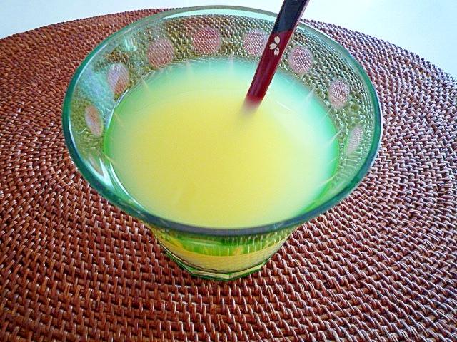 疲労回復クエン酸入りレモンジュース♪