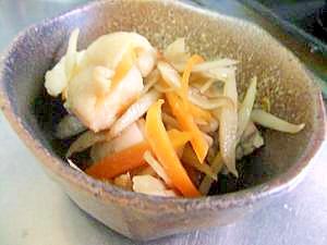 ごぼうが美味しい 鶏肉とごぼうの簡単炒め