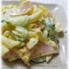 きゅうりとハムのマカロニサラダ