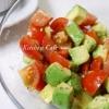 トマト&アボカドのサラダ