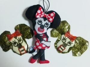 キュービックマウスのミニーちゃん♪(キャラ弁)
