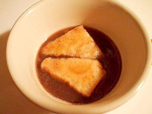 パン粥風♪ 食パンでお汁粉