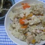 地鶏の炊き込みご飯