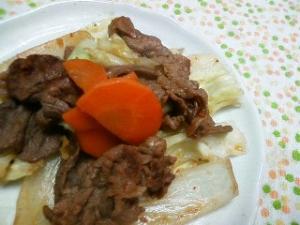 スタミナ牛野菜炒め