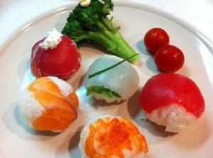 可愛い☆手毬寿司