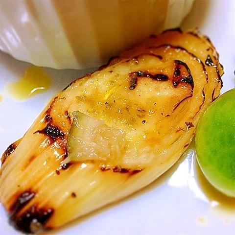下仁田葱のがっつりトロトロ焼きマリネ