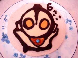 ウルトラマンケーキ キャラクターチョコレート