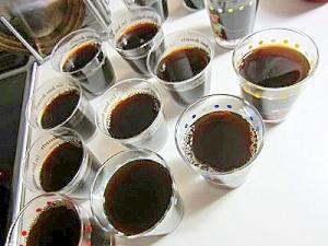 おもてなしの日に簡単コーヒーゼリー(*^^)v