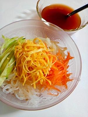 冷麺風春雨サラダ