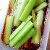 【栄養美人肌】酢醤油でセロリの浅漬け~ごま油風味~