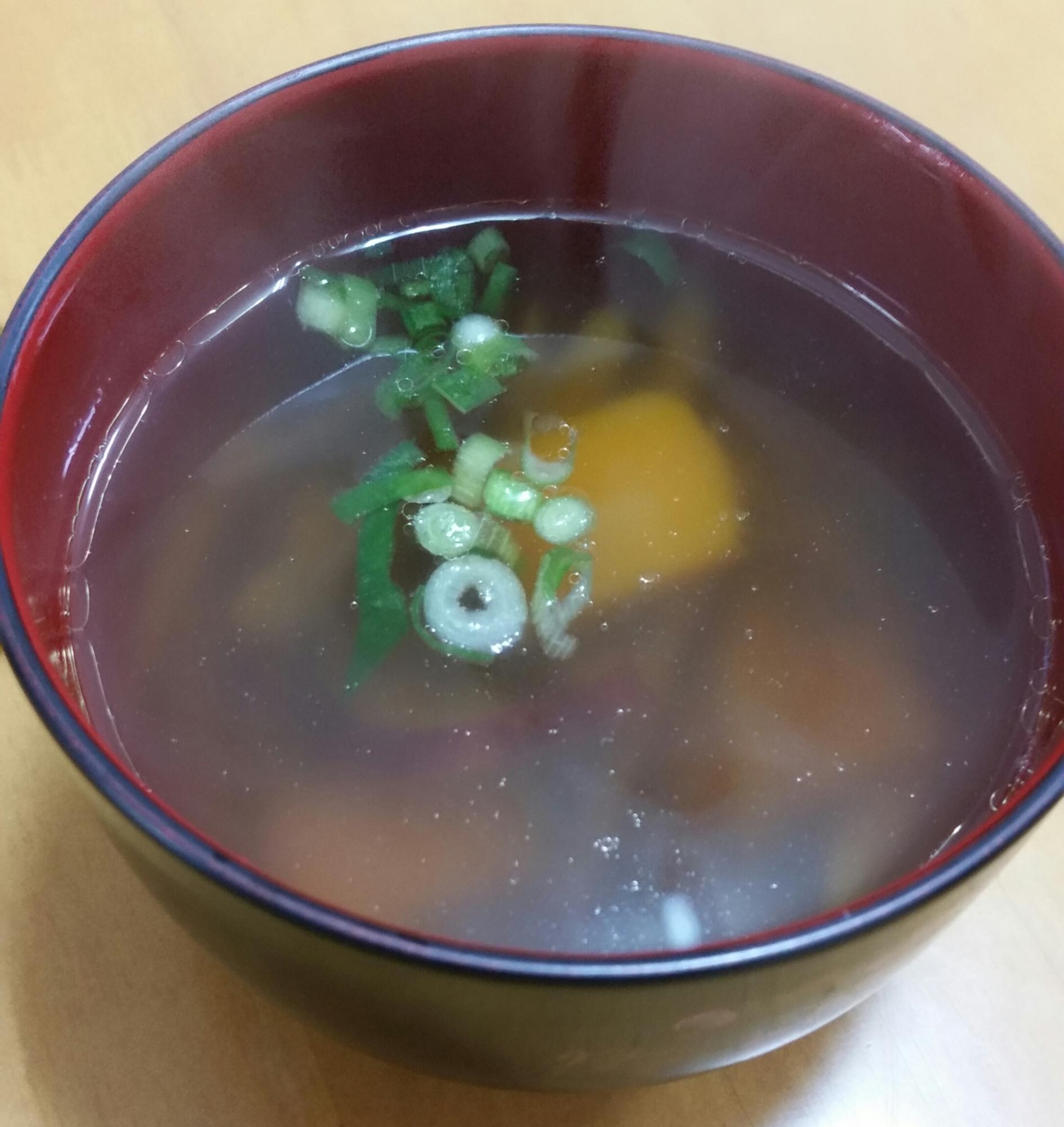 かぼちゃとさつまいもでお手軽けんちん汁 レシピ・作り方 by TOMOMI9968|楽天レシピ