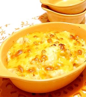 とろとろクリーミーなカリフラワーチーズ