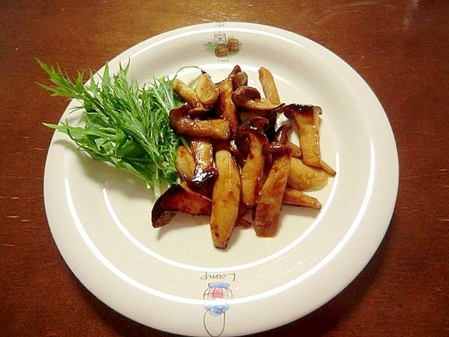 混ぜて焼くだけの簡単レシピ。エリンギの和風焼き