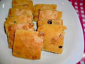 米粉でサックリ☆トースターで焼き菓子