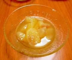 洋なしの蜂蜜レモン風味コンポート