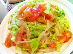 野菜づくしのむちむち稲庭うどんサラダ