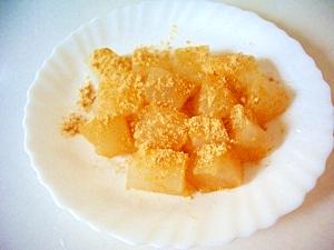 わらび餅粉、お鍋で、わらび餅(全工程写真あり)