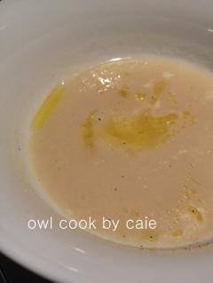 茹で汁活用のポタージュ