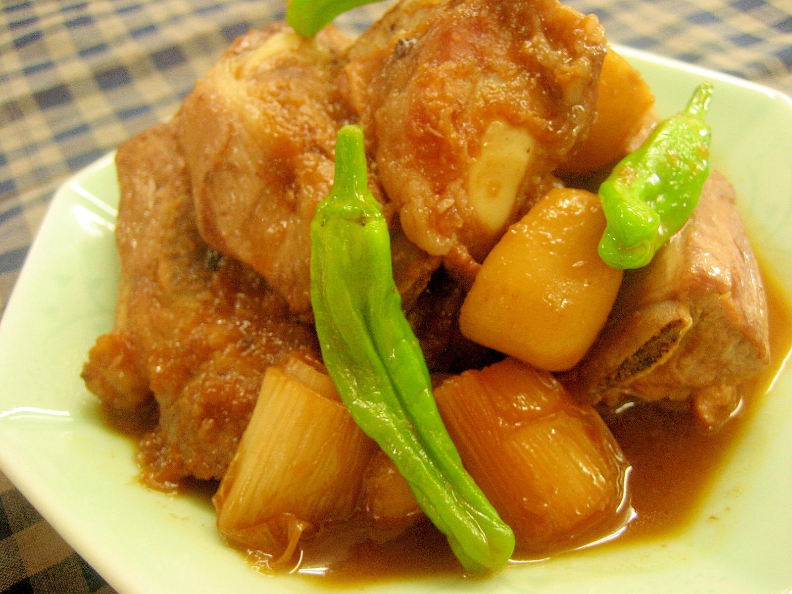簡単!がっつりスタミナ系!豚カルビの韓国風煮込み