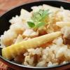 超簡単!粉末うどんスープで作る炊き込みご飯!