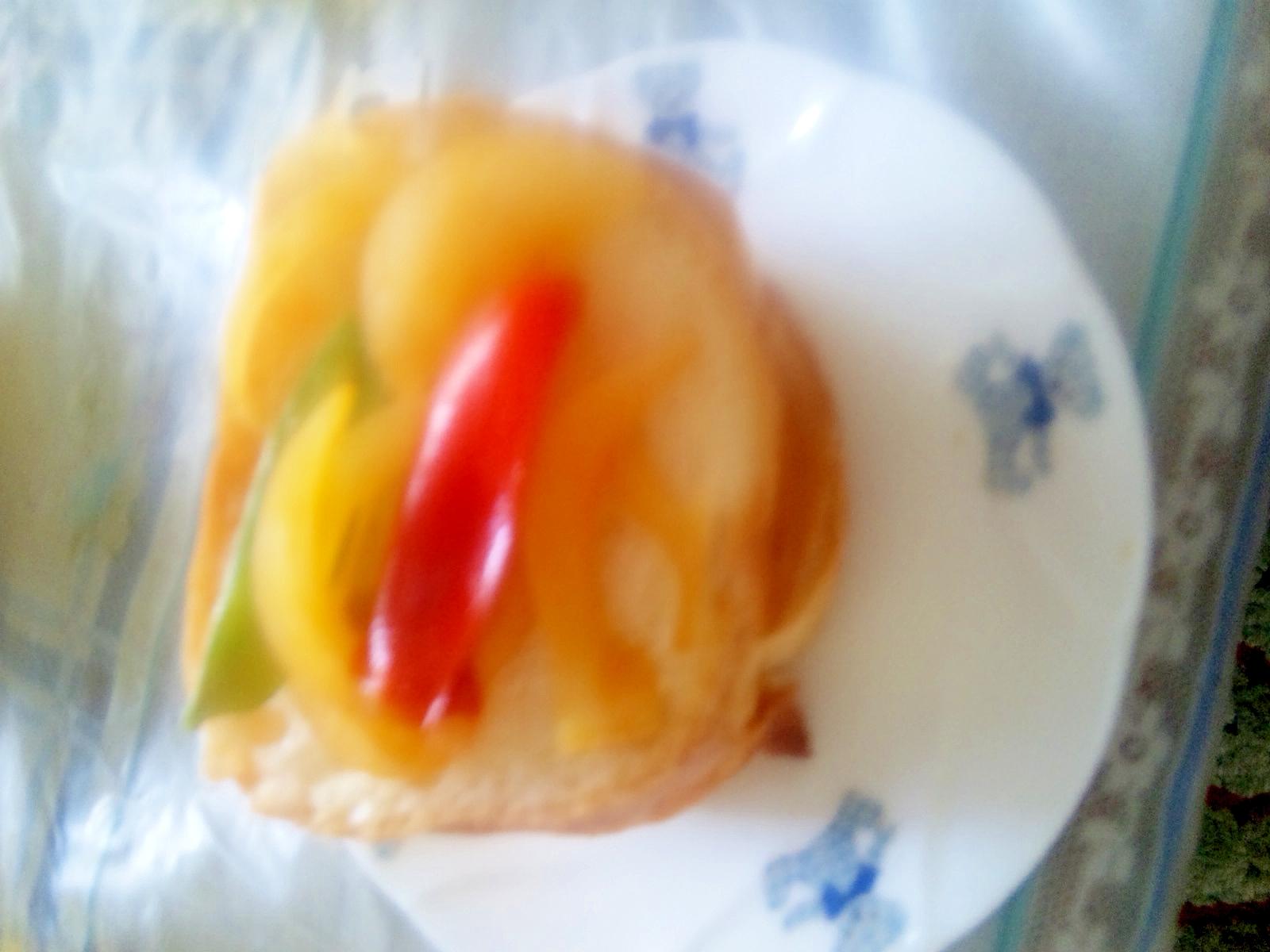 フランスパンの野菜パン
